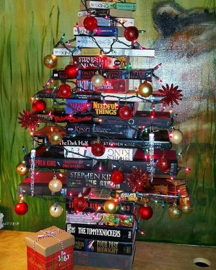 Image result for oh christmas tree, plese have lots of books under