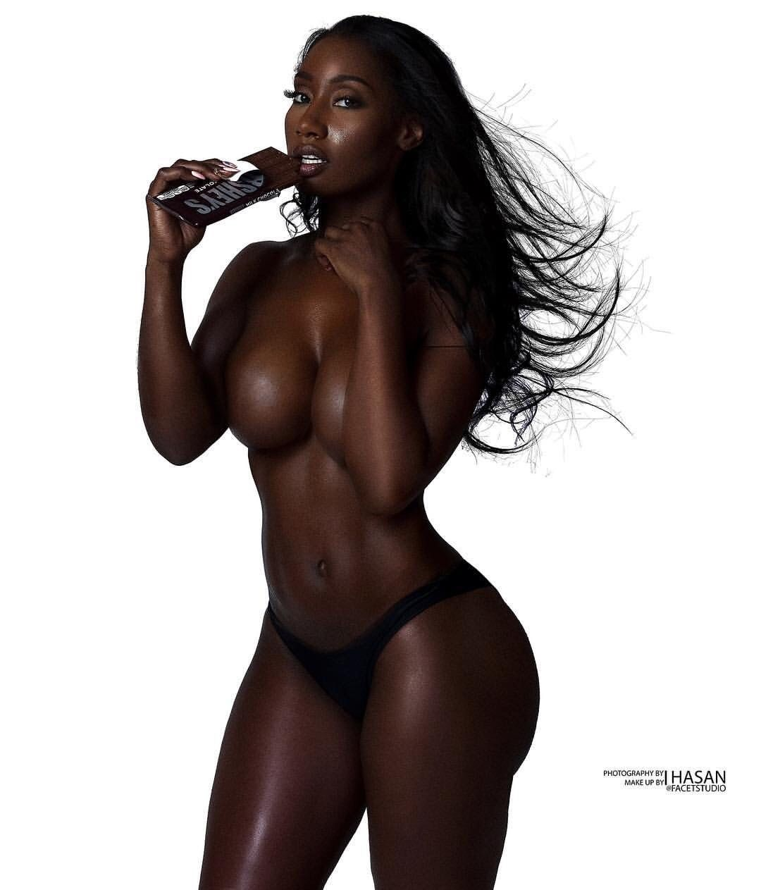 nude black blop women