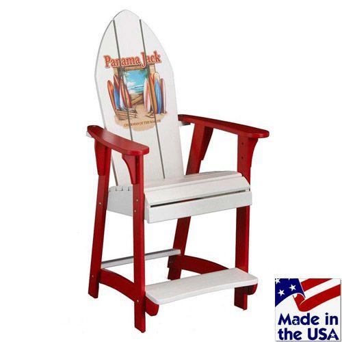 Pjo 4001 Adk Panama Jack Adirondack Chair By Hospitality