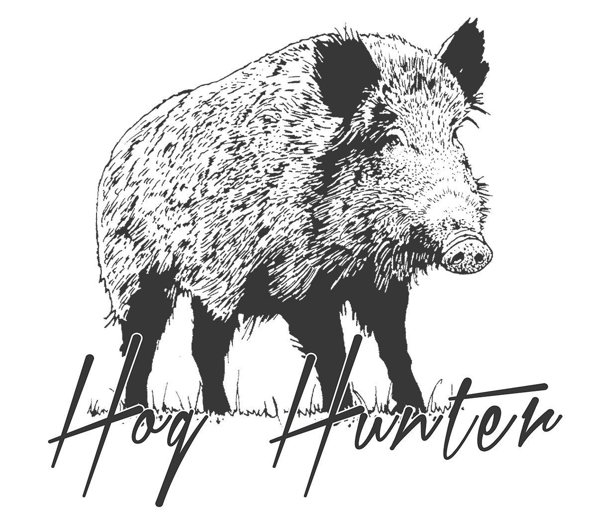 Hog Hunting T Shirt Hog Hunter Feral Hog Catch Dogs Boar
