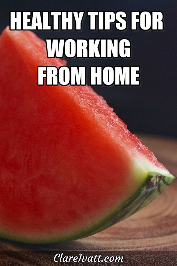 Working from home is very convenient, but it can be an unhealthy lifestyle:  It's not far from your...