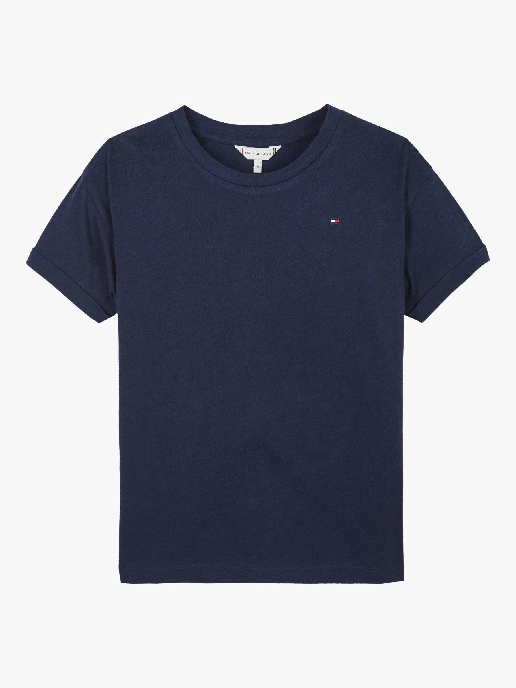 Tommy Jeans Womens Essential Logo Short Sleeve Sweatshirt