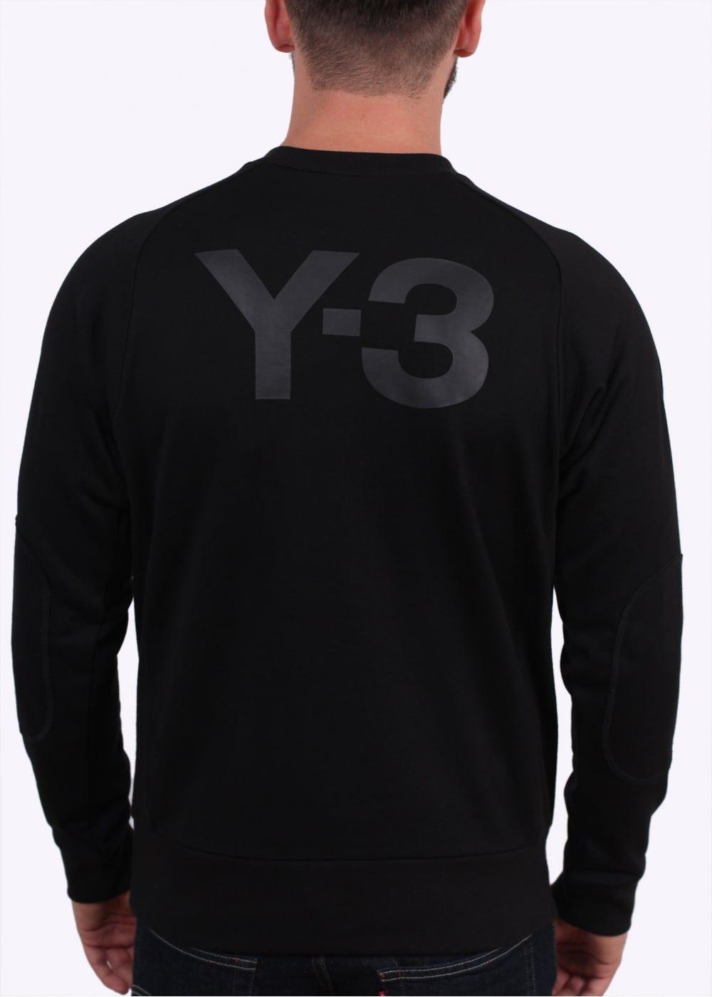 5ee9c4856 Y3   Adidas - Yohji Yamamoto CL Sweat Top - Black