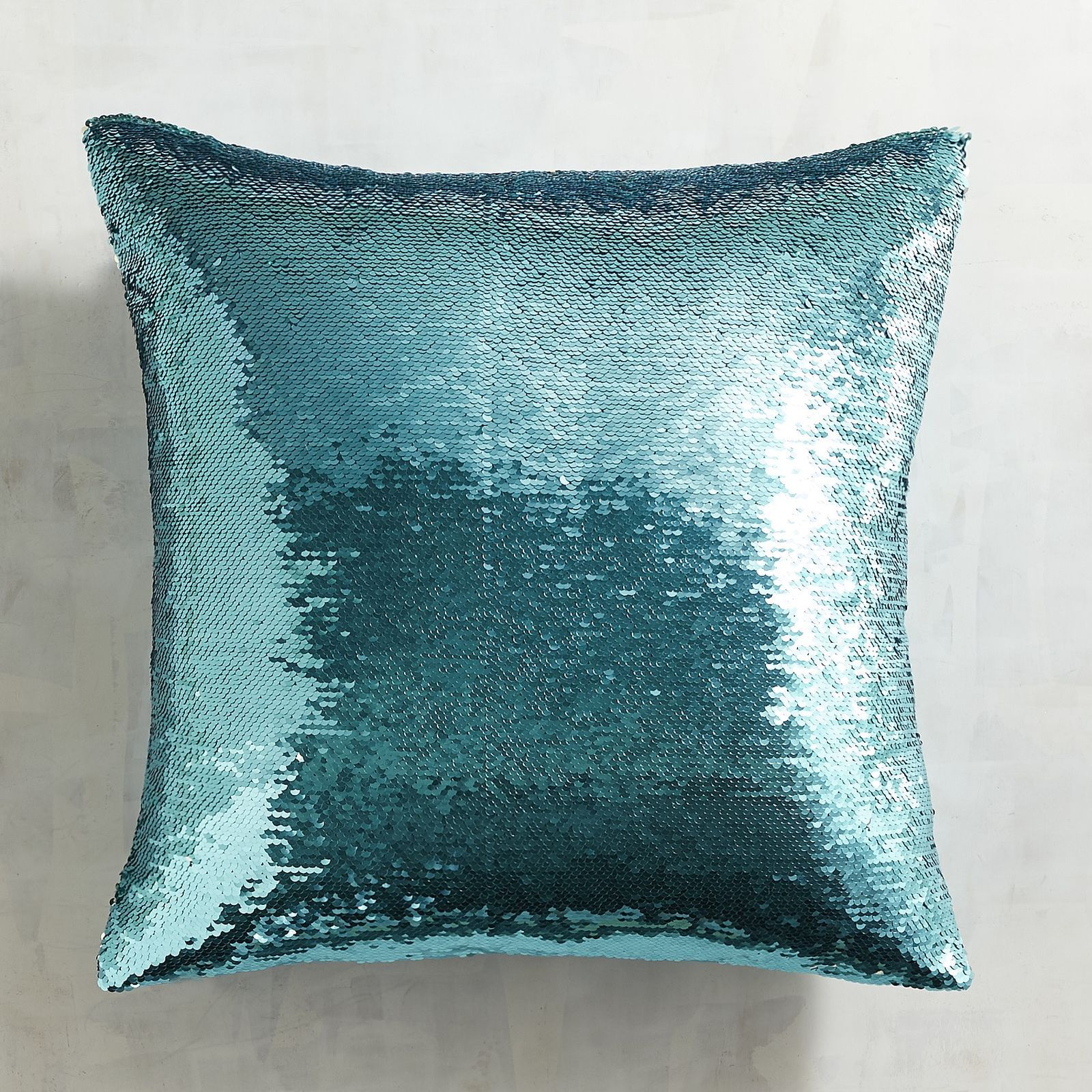 turquoise faux oversized fur everything pillow teal mongolian