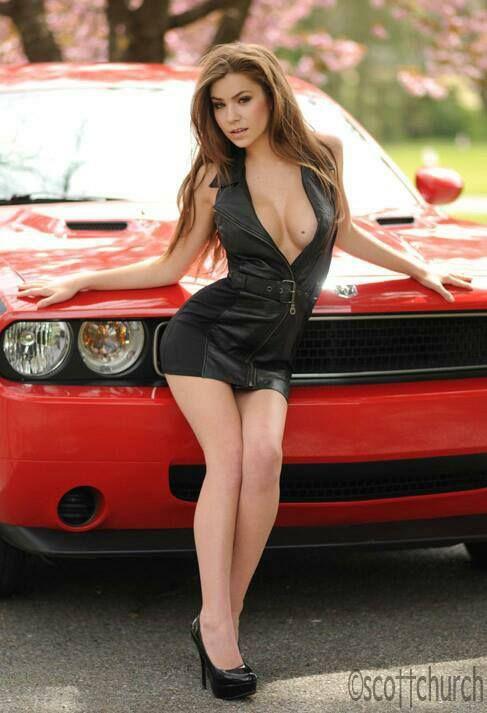 Challenger Stephanie Manescu Mopar Girl Car Girls Girl