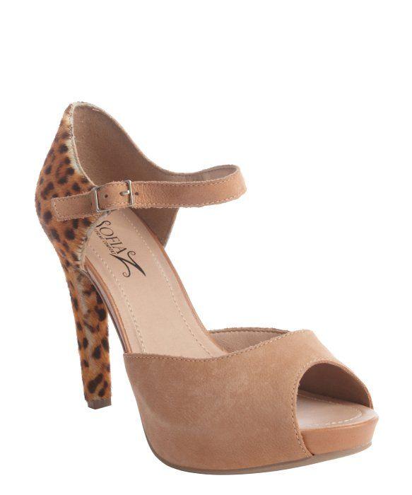 45eeaf77110 Sofia Z Jessica Women Peep-Toe | Peep toe pumps, Cheetahs and Supreme