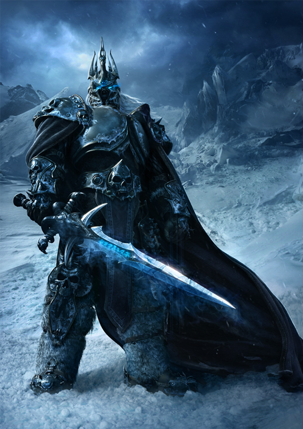 Arthas The Lich King Costume Warcraft Art World Of Warcraft Lich King