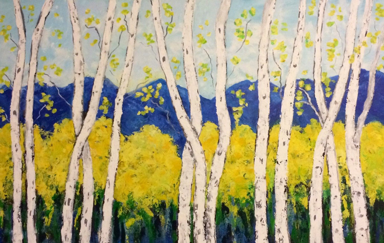 Magnificent Aspen Trees Wall Art Component - Wall Art Collections ...