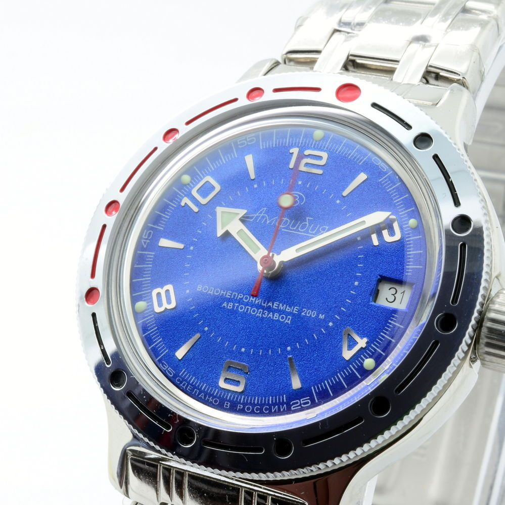 What we sell:Now basically we sell Russian Vostok diver Amphibian and military…