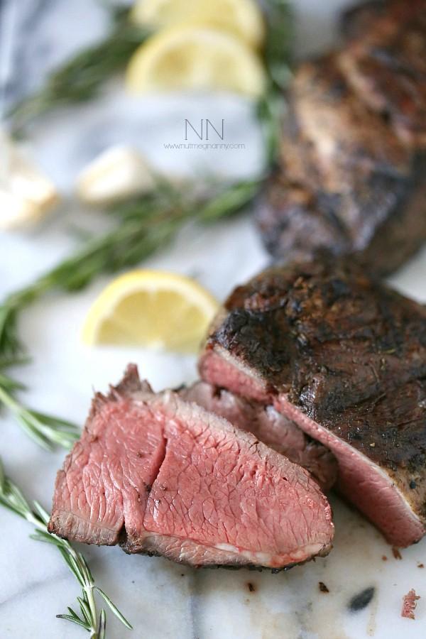 Grilled Marinated Lamb Recipe by Nutmeg Nanny