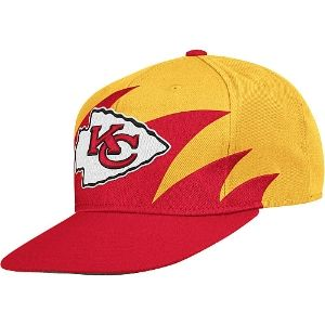 competitive price 95393 fc339 Mitchell & Ness Kansas City Chiefs Sharktooth Snapback Hat ...