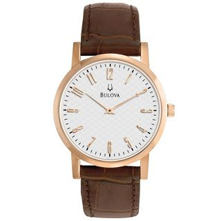 men s bulova watch men s watches bulova watches bulova watch men s brown leather strap men s watches jewelry watches macy s