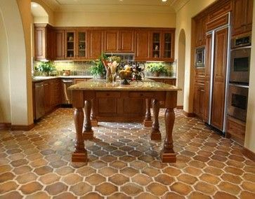 This Is Called Manganese Saltillo Tile In The Shape Of