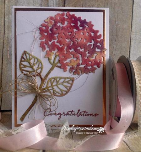Congratulations Rambling Rose Studio Billie Moan Cards Handmade