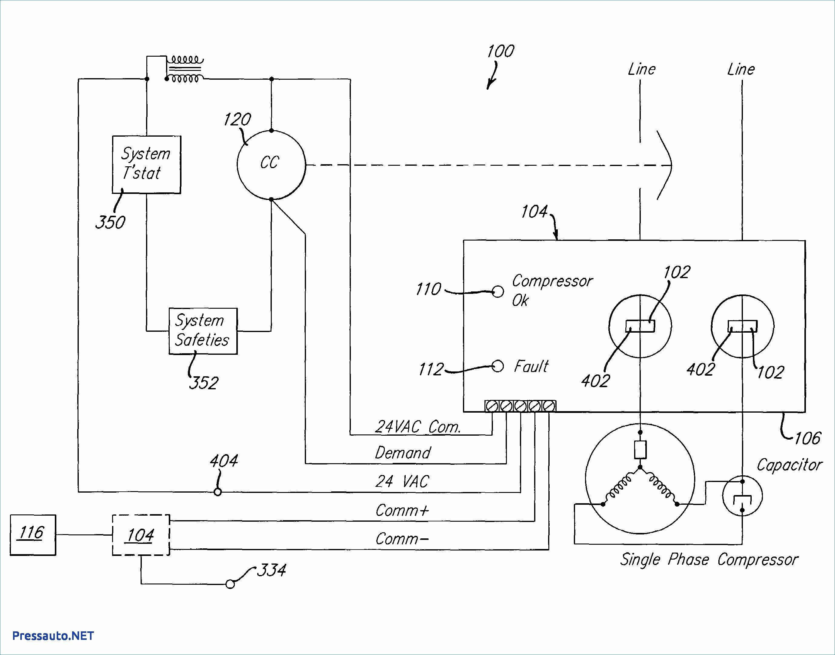 Unique Wiring Diagram For Single Phase Dol Starter Air Compressor Pressure Switch Diagram Ac Compressor