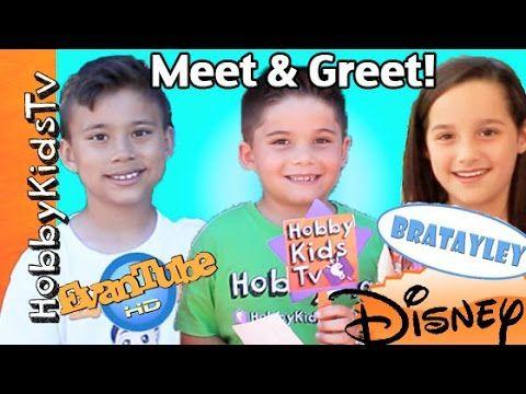 Hobbykids Meet Fans With Evantubehd At Disney Bratayley Hobbykidstv Bratayley Hobbies To Try Kids Tv