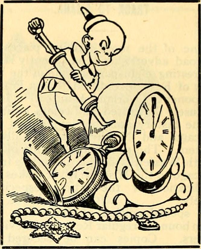 "danskjavlarna: ""Here's the imp who oils time, from Juvenile Instructor, 1902. """