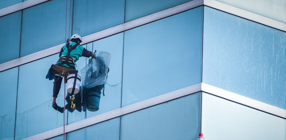 Give A Quality Finish To Your Window Hire Certified Windowcleaners Online Without Any Hassle Professional Window Cleaning Washing Windows Window Cleaner