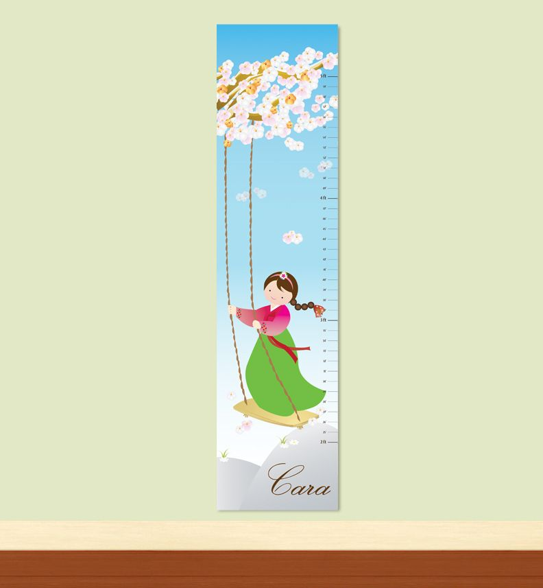 Korean Girl Growth Chart For My Girl Pinterest Growth Charts