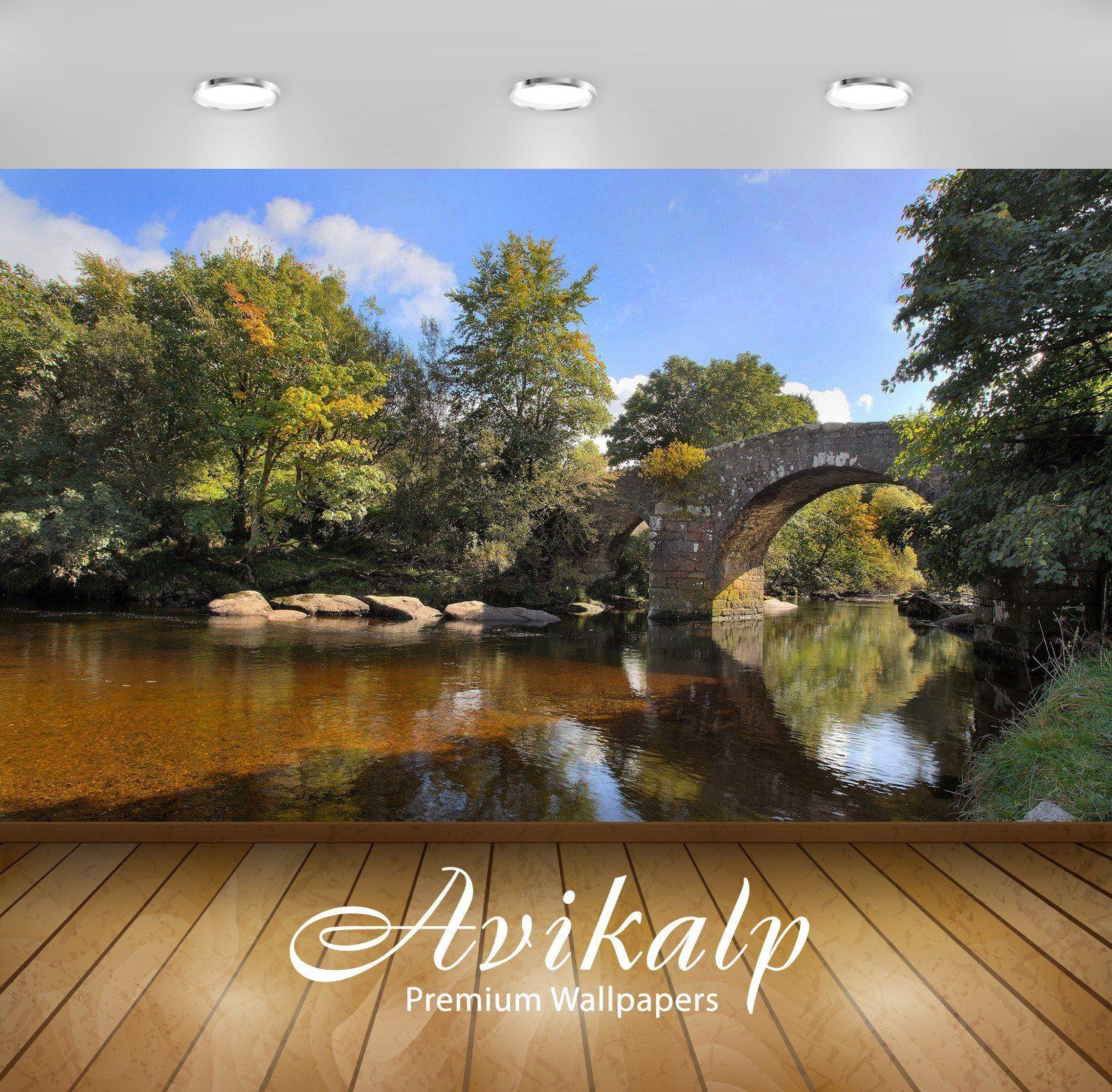 Best Avikalp Exclusive Awi6363 Stone Bridge Over The River 640 x 480