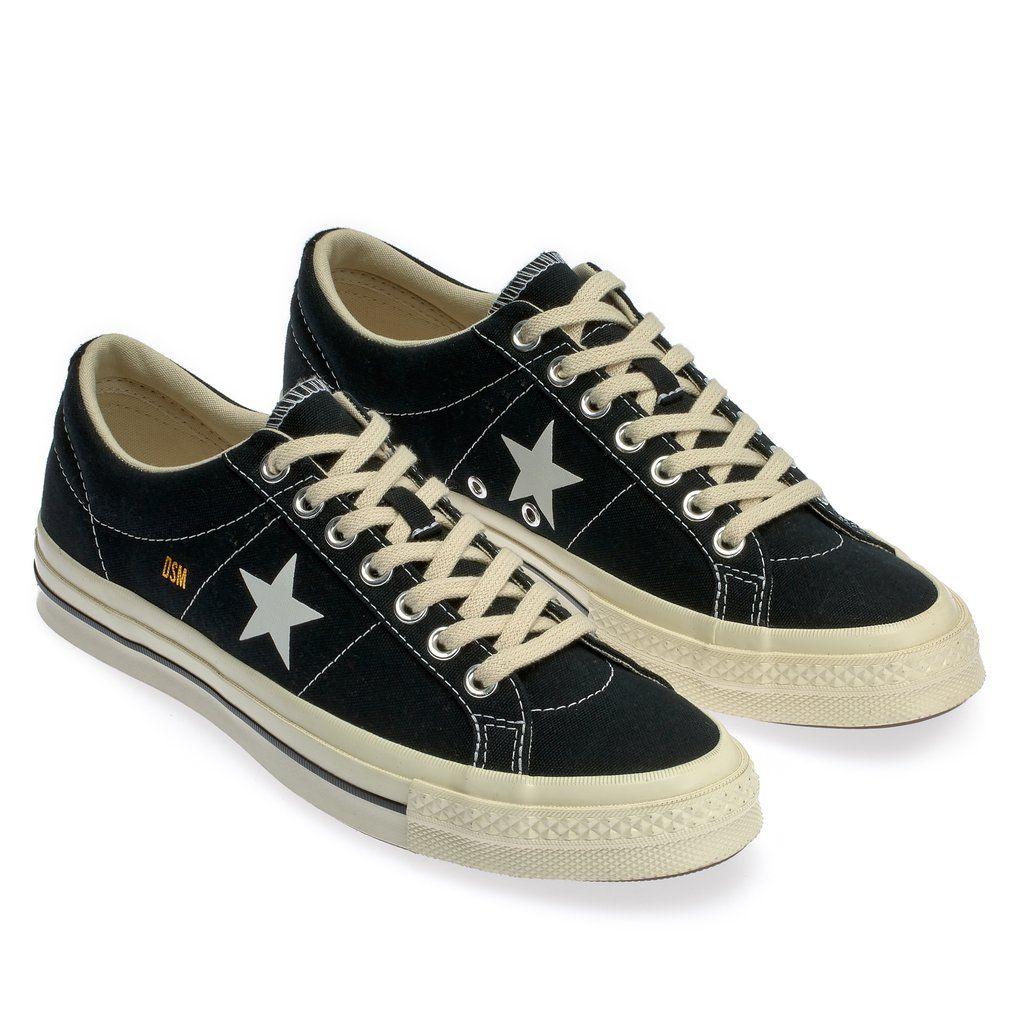 Converse One Star Canvas x DSM (Black