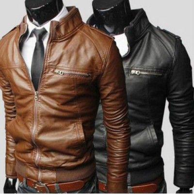 Buy 100 Pure And Genuine Leather Biker Jackets For Men Online In