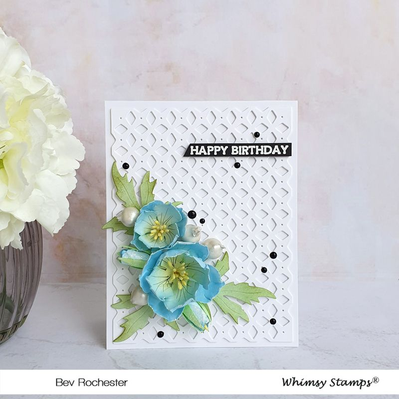 Tuesday Tutorial - Simple Paper Poppy Flower Video Tutorial (Whimsy  Inspirations Blog)   Whimsy stamps, Flower video tutorials, Flower video