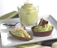 Tropical cream pie - basically avocado pie. Who would've thought this could be such a tasty dessert!