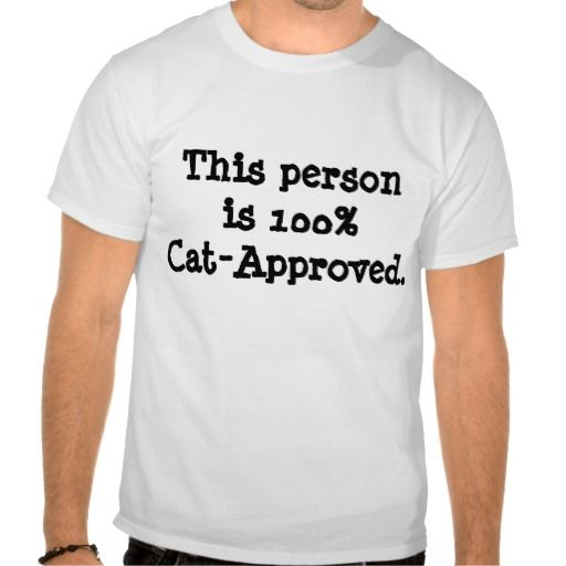 Cat Approved Tshirt Cat Lovers Tshirt CricketDiane #Cat #pet #Tshirt