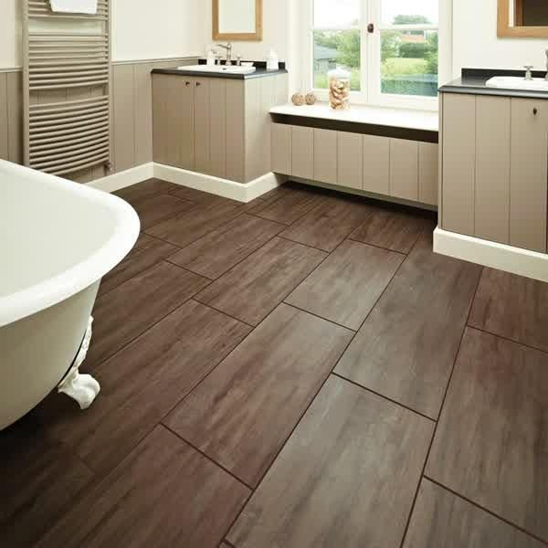 Tile Bathroom Tile Wood Floor Bathroom Decoration With White Calm Color Wall Bathroom With D Bathroom Flooring Options Luxury Vinyl Flooring Bathroom Flooring