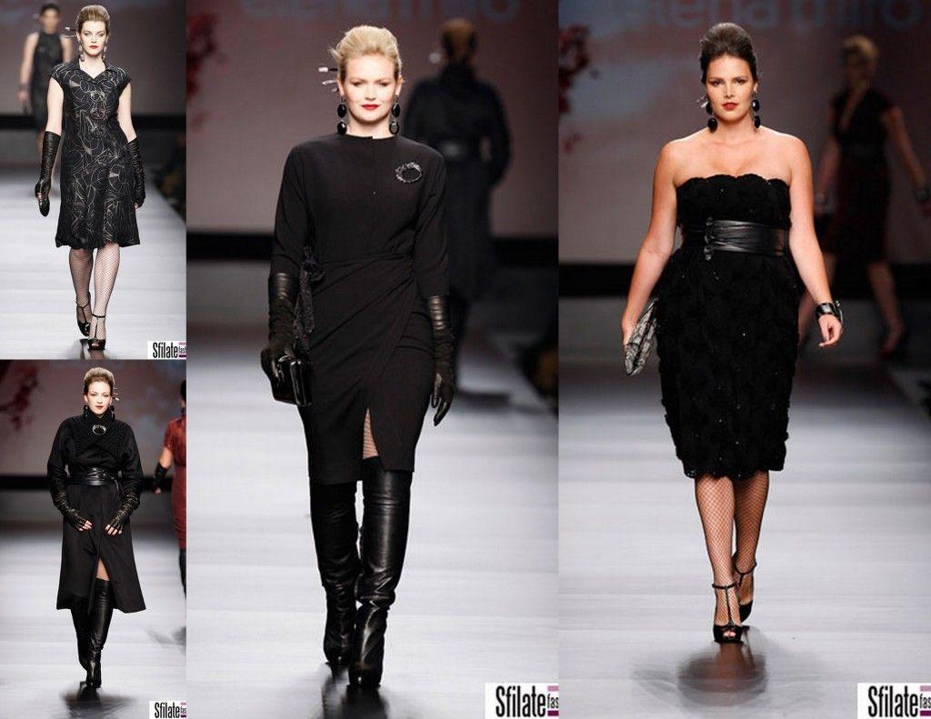 milan plus size designer elena miro photos from runway and fashion