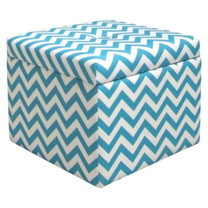 Stupendous Chevron Storage Ottoman Perfect For Storing Your Read Andrewgaddart Wooden Chair Designs For Living Room Andrewgaddartcom