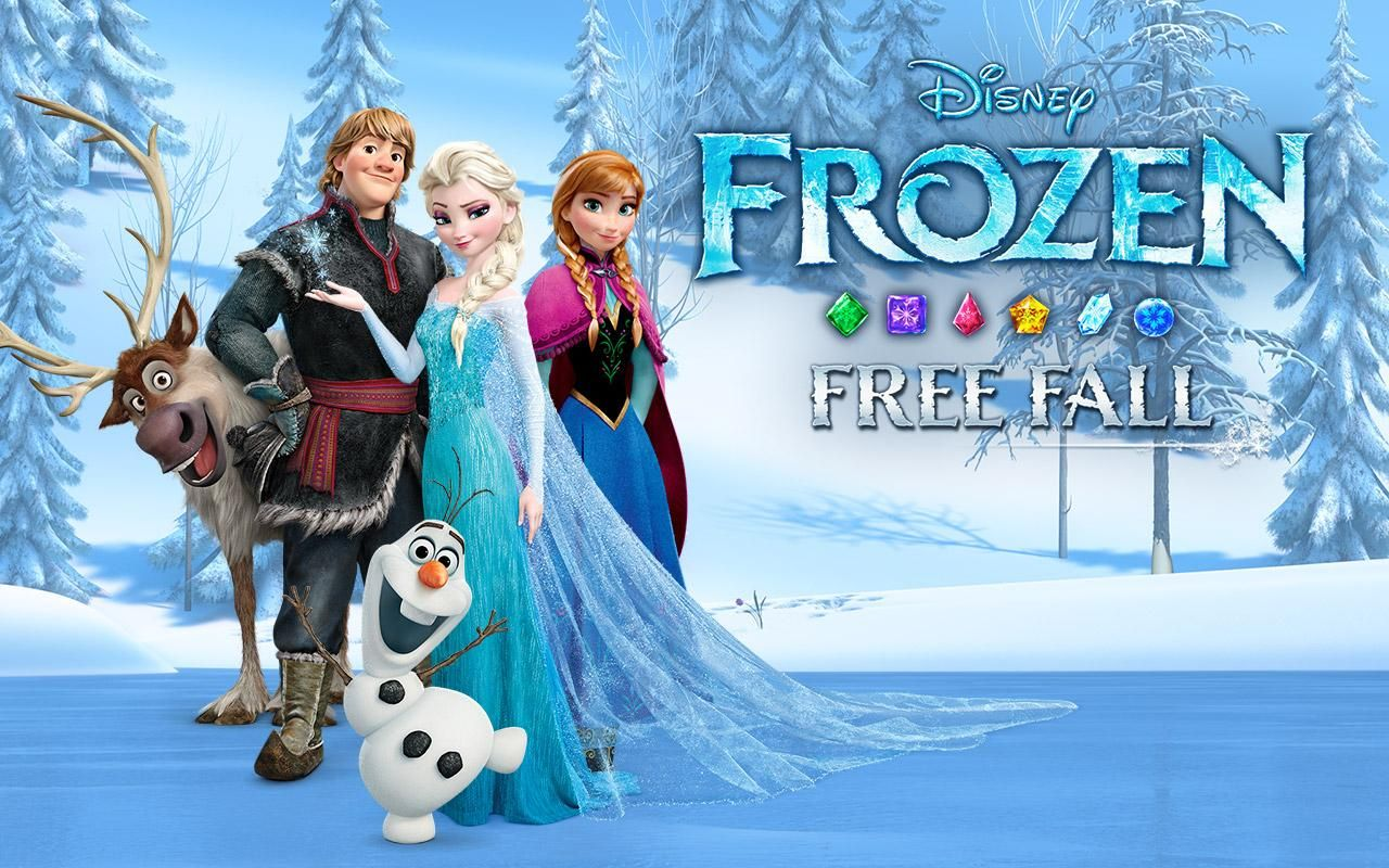 Frozen Free Fall Screenshot ObbApk Games Pinterest Each Day
