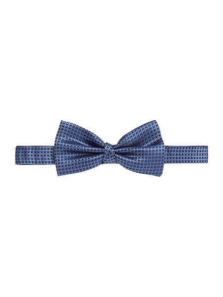 Teselen Cross Hatch Bow Tie