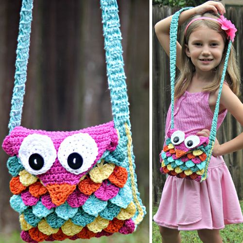 Crochet Owl Purse Free Pattern Crochet For Children In 2018