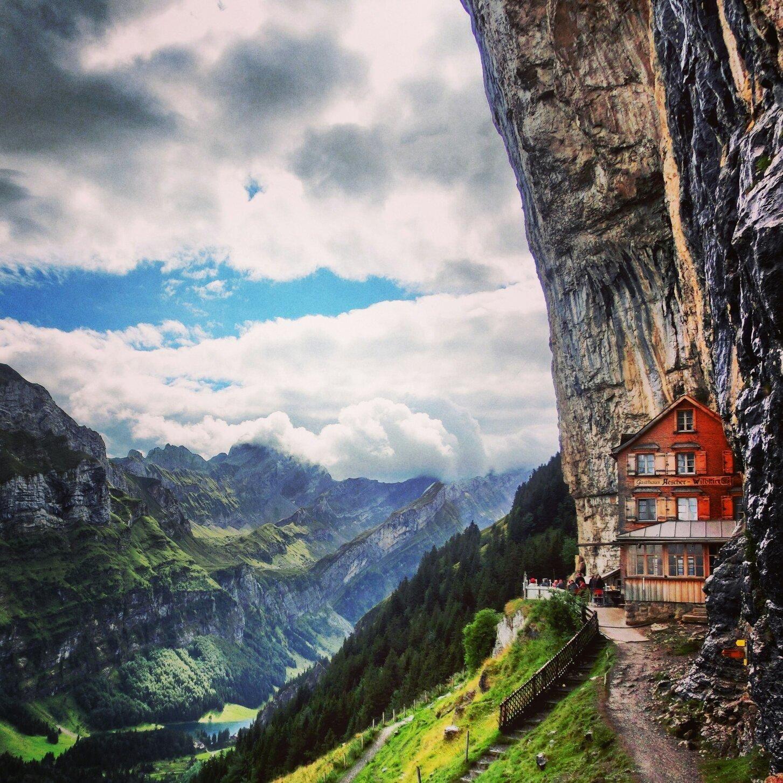 Berggasthaus Aescher Switzerland Weissbad Canton Of