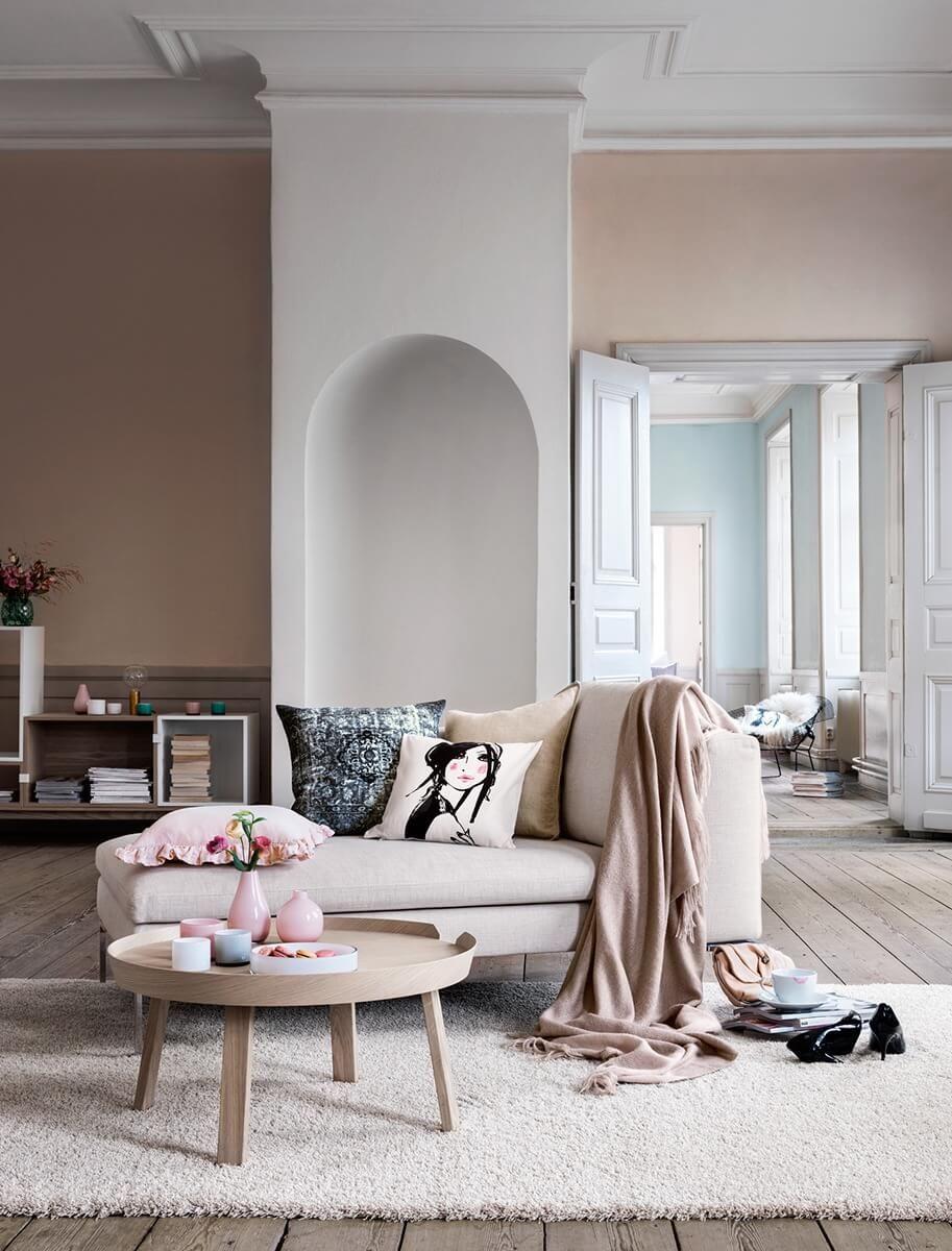 10 jolis intérieurs dans des tons nude | Pinterest | Farbpaletten ...