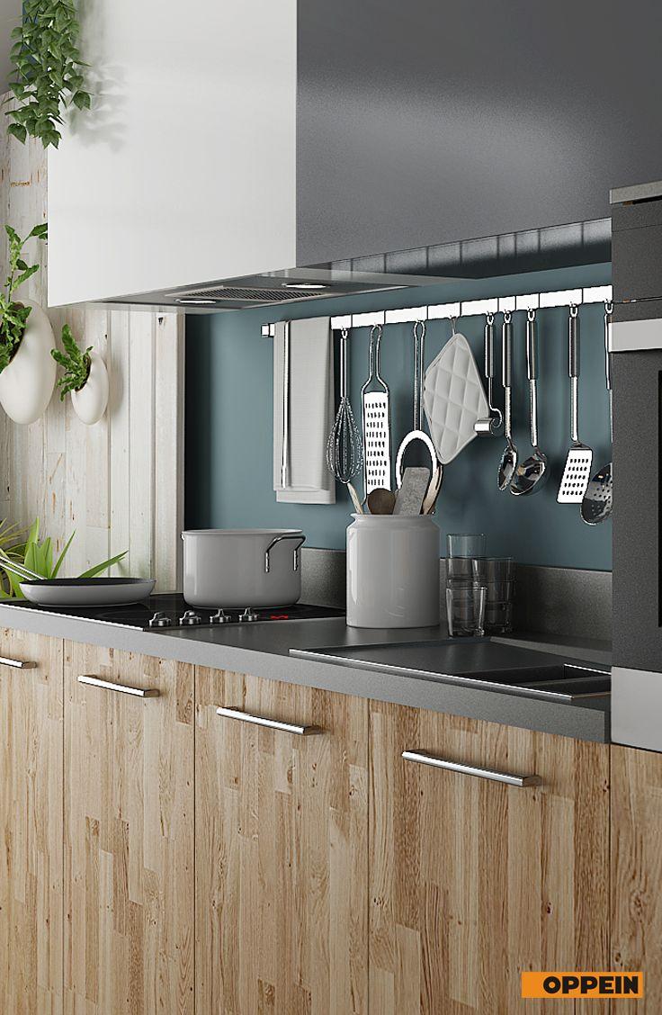 360cm Width Standard Kitchen Cabinet With Wood Grain Laminate Finish Kitchen Design Kitchen Kitchen Wardrobe