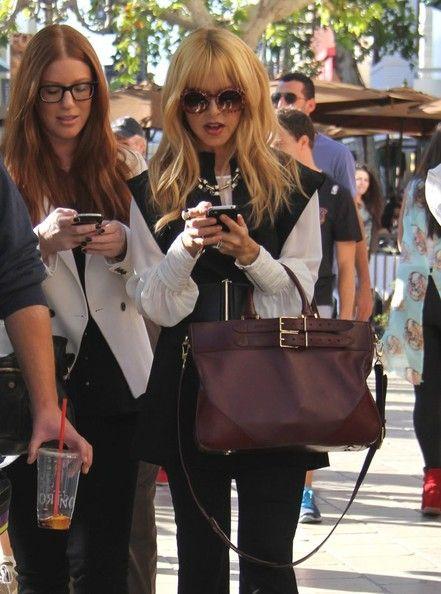 Rachel Zoe Leather Shoulder Bag