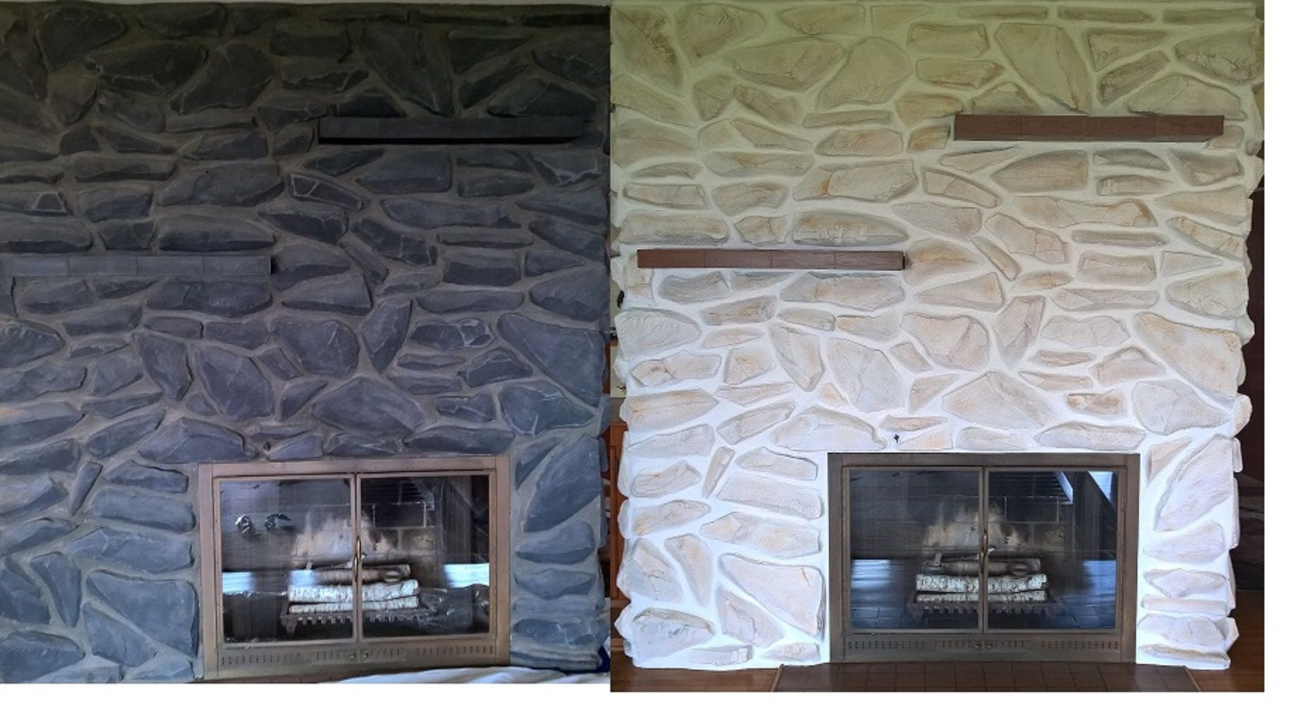 Updated 1960 S Fireplace Fireplace House Home Decor