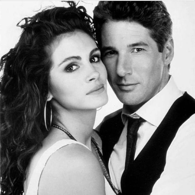Julia Roberts and Richard Gere in Pretty Woman (1990) | Richard gere julia roberts. Richard gere. Pretty woman movie