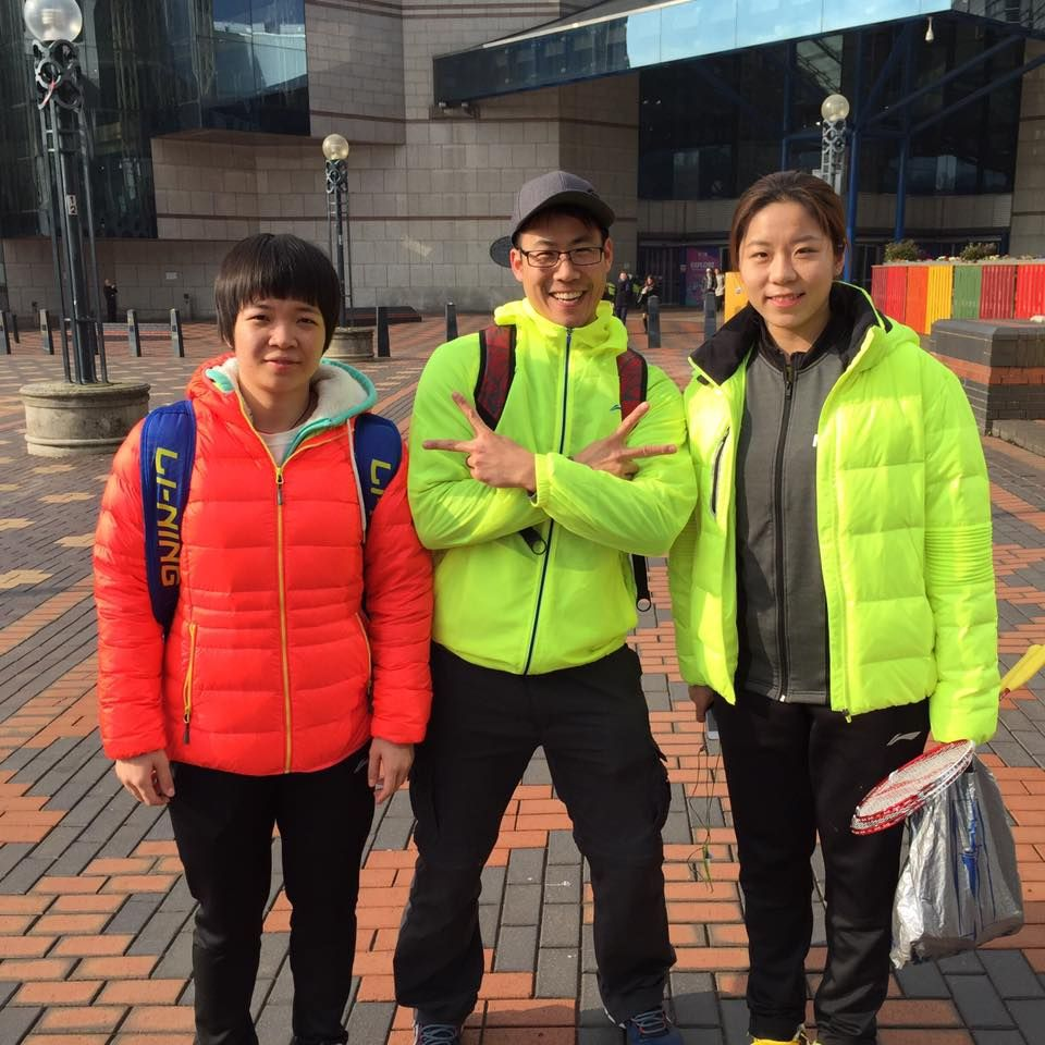 Former world junior champions Chen Qingchen & Jia Yifan took WD