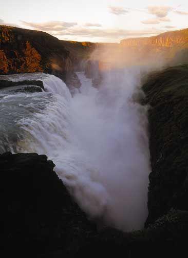 Iceland:  Gulfoss ~photo by Michael Reichmann