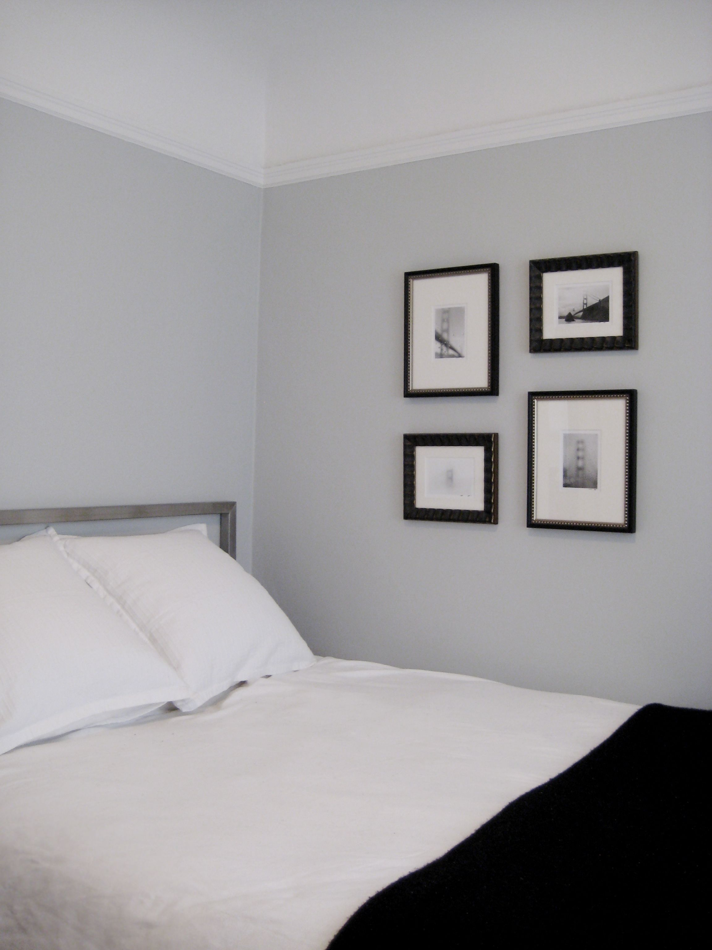 going to paint our bedroom benjamin moore pale smoke my. Black Bedroom Furniture Sets. Home Design Ideas