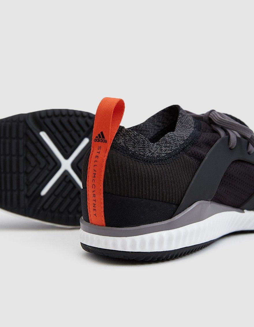 reputable site 7d9a5 ea4cb CrazyTrain Pro Sneaker in Core Black. CrazyTrain Pro Sneaker in Core Black  Stella Mccartney Adidas ...