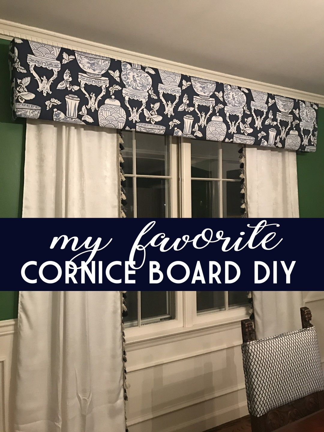 Cornice boards my favorite project diy to add to any