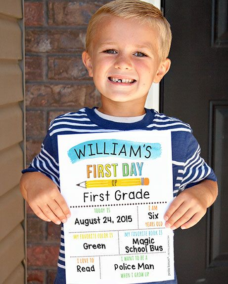 FREE DOWNLOAD – BACK TO SCHOOL SIGNS #firstdayofschoolsign