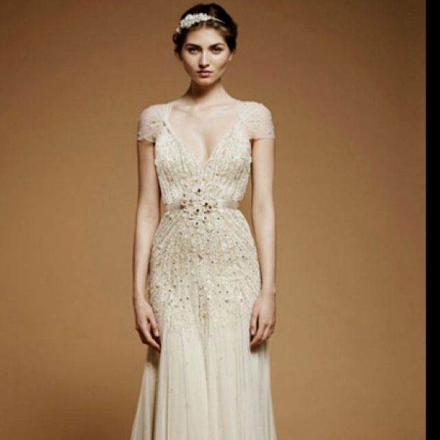 Jenny Packham wedding dress! There's beauty, then there's this.
