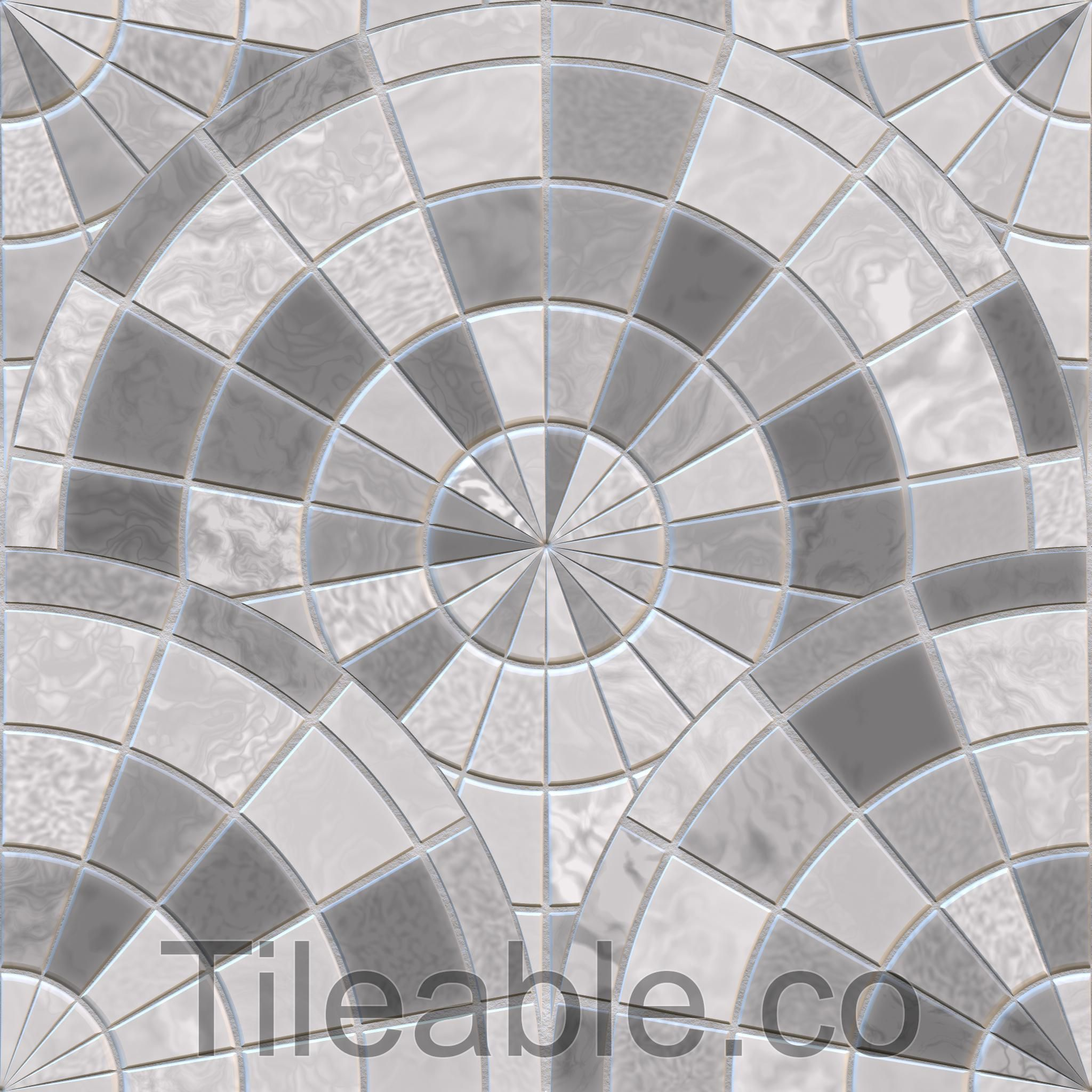 Circular Floor Tiles Design 7 Awsome Texture With All 3d