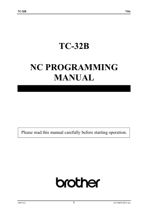 Pin by CNC Manual on CNC Manual - CNC Machine Manuals PDF
